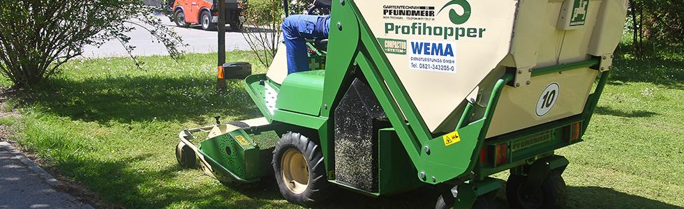 Pflege von Grünanlagen in Langweid bei Augsburg
