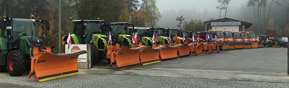 Winterdienst Langweid bei Augsburg